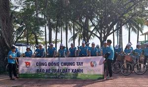 """Tổ chức chương trình ngày hội """"Cộng đồng chung tay bảo vệ trái đất xanh"""""""