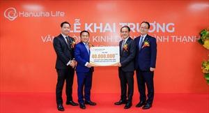 Hanwha Life Việt Nam khai trương Văn phòng Kinh doanh Bình Thạnh