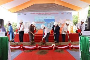 Khởi công bệnh viện Sản nhi tỉnh Vĩnh Long với vốn đầu tư gần 700 tỷ đồng