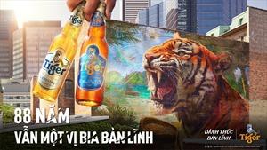 Tiger® Beer kỷ niệm 88 năm – Vẫn một vị bia bản lĩnh