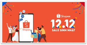 Shopee khởi động sự kiện 12.12 Sale Sinh Nhật