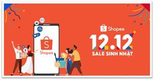 Shopee khởi động sự kiện 12.12 Sale Sinh Nhật