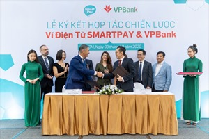 Ví điện tử SmartPay hợp tác VPBank gia tăng tiện ích người dùng