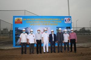 Bộ trưởng Bộ VH-TT&DL thăm tổ hợp sân đấu Quần vợt trong chương trình thi đấu SEA Games 31