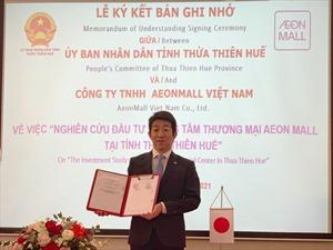 Aeon Mall Việt Nam đầu tư Trung tâm thương mại 160 triệu USD tại Huế