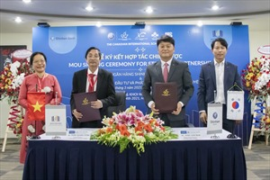 Ngân hàng Shinhan và Công ty cổ phần Đầu tư và Phát triển Giáo dục Khôi Nguyên ký kết thỏa thuận hợp tác chiến lược