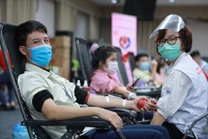 Samsung đã hiến tặng gần 100.000 đơn vị máu từ năm 2010