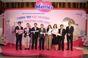 Merries được chứng nhận ngăn ngừa hăm tã