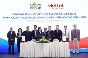 NovaGroup và Viettel hợp tác thúc đẩy chuyển đổi số