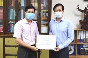 Ngân hàng Chính sách xã hội TP Đà Nẵng hỗ trợ các lực lượng tuyến đầu phòng, chống dịch