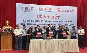 Liên minh hợp tác hỗ trợ hàng Việt vươn xa