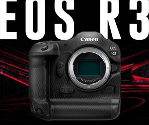 Canon phát triển máy ảnh không gương lật full-frame EOS R3