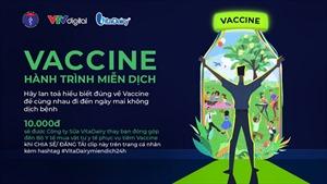 """Vitadairy phát động chương trình """"vaccine - hành trình miễn dịch"""""""