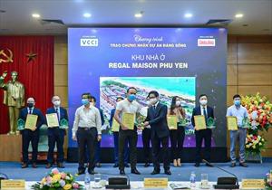 """Regal Maison Phu Yen của Đất Xanh Miền Trung được vinh danh tại """"Dự án đáng sống 2021"""""""