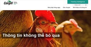 Cargill ra mắt trang web về sức khỏe và dinh dưỡng vật nuôi để hỗ trợ nông dân Việt Nam