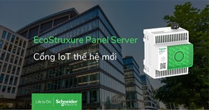 Schneider Electric ra mắt Gateway thế hệ mới - EcoStruxure™ Panel Server