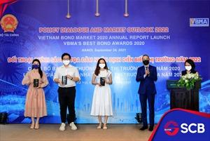 """SCB nhận danh hiệu Top 3 """"Nhà tạo lập thị trường chào giá giao dịch Repo tốt nhất năm 2020"""""""