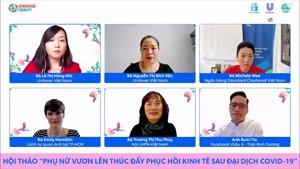 Unilever Việt Nam tích cực hỗ trợ phụ nữ vươn lên thúc đẩy phục hồi kinh tế sau đại dịch COVID-19