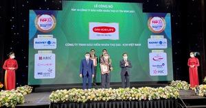 Dai-ichi Việt Nam đứng thứ 3 trong 10 Công ty bảo hiểm nhân thọ (BHNT) uy tín năm 2021