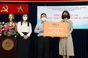 FWD Việt Nam ủng hộ hơn 23 tỷ đồng cho công tác phòng, chống dịch COVID-19
