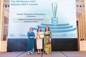 Unilever Việt Nam chiến thắng Hạng mục 'Bình đẳng giới tại thị trường' của giải thưởng WEPs 2021