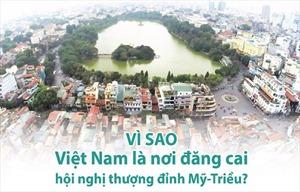Vì sao Việt Nam là nơi đăng cai hội nghị thượng đỉnh Mỹ - Triều?
