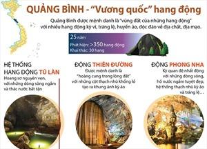 'Vương quốc' hang động Quảng Bình