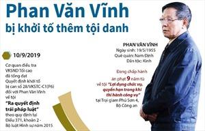 Cựu Trung tướng Phan Văn Vĩnh bị khởi tố thêm tội danh