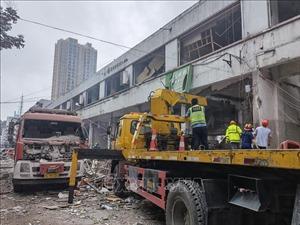 Nổ khí ga ở Trung Quốc làm ít nhất 11 người tử vong