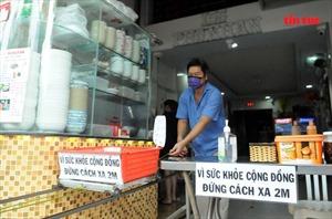 Người dân TP Hồ Chí Minh vẫn nghiêm chỉnh thực hiện giãn cách xã hội