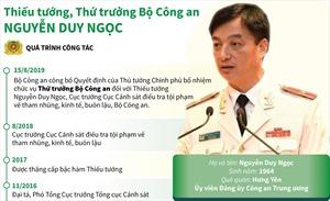 Thiếu tướng Nguyễn Duy Ngọc được bổ nhiệm Thứ trưởng Bộ Công an