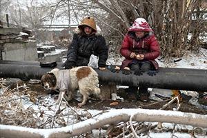 Cuộc sống người vô gia cư ở một trong những nơi lạnh nhất thế giới