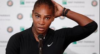 Serena Williams rút lui khỏi Pháp mở rộng ngay trước giờ đấu với Sharapova