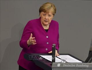 Thủ tướng Angela Merkel thừa nhận khủng hoảng dịch COVID-19 là 'thử thách lớn nhất'