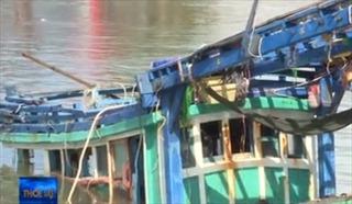 Tìm thấy thi thể 3 thuyền viên bị mất tích trong vụ chìm tàu cá trên biển Cà Mau