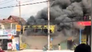 Cháy tiệm cầm đồ khiến 3 người tử vong