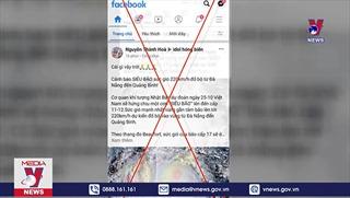 Cảnh báo thông tin giả mạo về cơn bão số 8