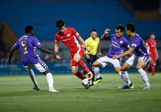V.League 2020: CLB Viettel hòa CLB Hà Nội với tỷ số 1-1