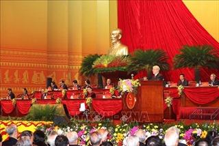 Các đại biểu tâm đắc với bài phát biểu của Tổng bí thư, Chủ tịch nước Nguyễn Phú Trọng