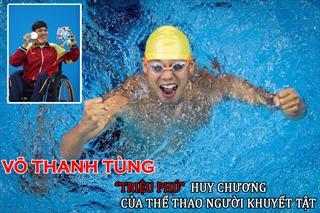 Võ Thanh Tùng - 'Triệu phú' huy chương của thể thao người khuyết tật