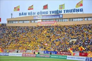 Sân Thiên Trường đáp ứng quy chuẩn quốc tế phục vụ bóng đá nam SEA Games 31