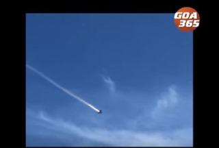 Video chiến đấu cơ MiG-29K Ấn Độ bốc cháy trên không