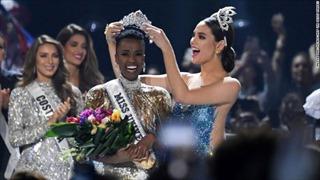 Người đẹp Nam Phi trở thành Hoa hậu Hoàn vũ 2019