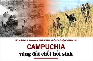 Campuchia - vùng đất chết hồi sinh