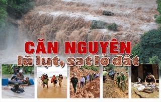 Căn nguyên lũ lụt, sạt lở đất