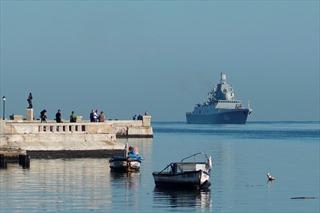 Chiến hạm Nga mang tên lửa hành trình cập cảng Cuba