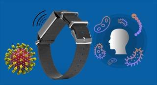 Vòng tay thông minh nhắc nhở người dùng không sờ tay lên mặt