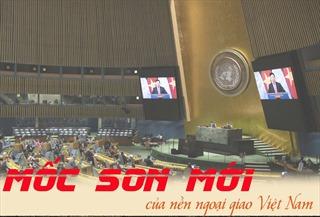 Mốc son mới của nền ngoại giao Việt Nam