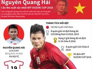 Nguyễn Quang Hải - Cầu thủ xuất sắc nhất AFF Suzuki Cup 2018