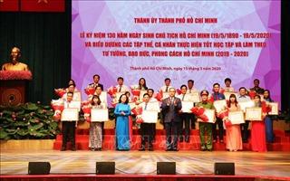 TP Hồ Chí Minh: Trao huy hiệu Đảng đợt 19/5 cho 2.420 đảng viên